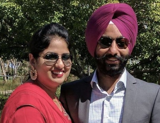 Simran and Gurwinder